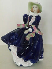 Royal Doulton Figurine Top O' The Hill Hn3735 Limited Edition Blue Dress #18