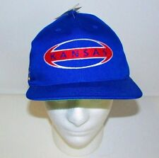 NCAA Kansas Jayhawks KU Blue Baseball Cap Hat One Size Snapback