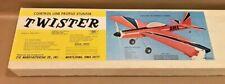 "NIB Sig Mfg. Co. ""Twister"" Control Line Stunter Model Airplane Kit"