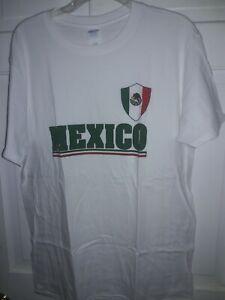 Mexico México Estados Unidos Mexicanos Patriotic Flag T-Shirt bandera camiseta L
