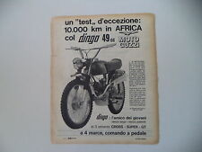 advertising Pubblicità 1967 MOTO GUZZI DINGO 49 50