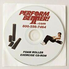 Cd Rom * Perform Better Foam Roller Exercise Instruction for Use