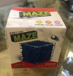 "Rubik's Cube Maze Pocket Toy 3""x3""x3"""