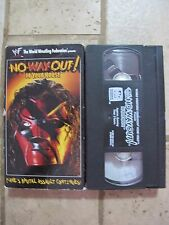 WWF In Your House - No Way Out! VHS 1998 Kane WWE WCW