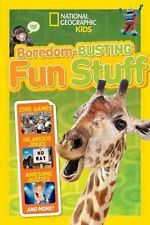 Boredom Busting Fun Stuff (National Geographic Kids),National Geographic Kids,Ex
