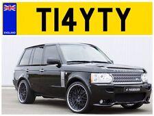 T14 YTY TATERS POTATO MR TAIT TAITS TATE TATES TATEY TATYS PRIVATE NUMBER PLATE