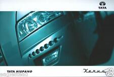 Bus Brochure - Tata - Hispano - Xerus - c2010 (BU20)