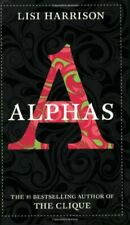 Complete Set Series - Lot of 4 Alphas books by Lisi Harrison