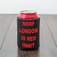 North London is Red beer can cooler/Norf London/Beer/Football/Funny drinks gift