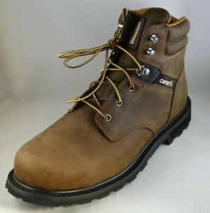 Carhartt Men's 6 Work Safety-Toe NWP Work Boot, Brown, Size 13.0