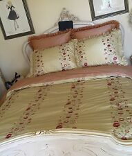 luxury bedding Custom 4pc Robert Allen Beacon Hill ,Neiman, Horchow Sweet dreams