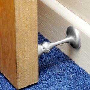 Stainless Steel MAGNETIC DOOR STOPPER Heavy Duty Stop/Catch/Hook/Wedge Screws