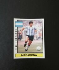 Cromo Maradona Argentina 1986 panini liga fútbol 87 España 370