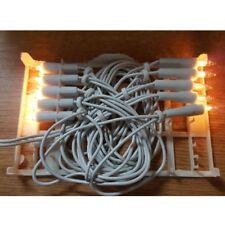 Mini-Lichterkette 10er Birnen klar / weiß Ringkette innen 04110 xmas