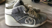 Mens Gucci High Top Lace up Sneaker Size 7.5G Retail 309517