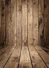 2019 NEW Wood Floor Photo Background Vinyl Cloth Photography Backdrop Prop 5x7ft