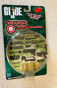 GI JOE WEAPON TECH (2002 Hasbro) -- G36 Assault Rifle -- Sealed