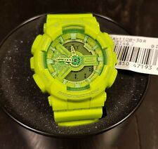 CASIO G-Shock GA-110B-3 Lime Green Hyper Color Limited Edition Mens Analog