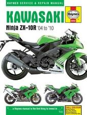 Kawasaki ZX-10R Service and Repair Manual: 2004-2010 (Haynes Manual)