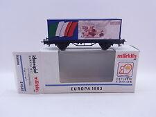 KV 098 012 Schöner Märklin H0 84565 Sonderwagen Europa 1993 Italien in OVP