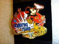 Disney Pin - Years of Celebration Spinner - Mickey and Tinker Bell