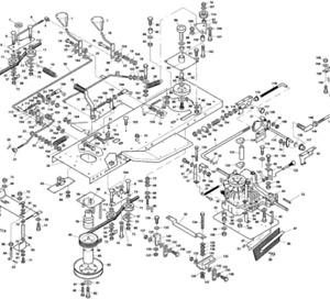 WESTWOOD DRIVE BELT 7239 /A81- HYDROSTATIC AXLE GEARBOX