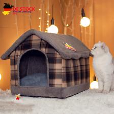 Hundehaus Hundehütte Hundehöhle abnehmbar Haustierhaus, 40*46*36CM