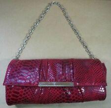 f9d11665d11c Sondra Roberts Faux Python Leather Chain Strap Purse Clutch Handbag