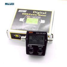 Digital SWR Standing-Wave & Power Meter NISSEl RS-50 125-525Mhz for 2 Way Radio