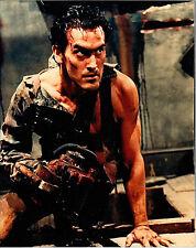 Evil Dead 2 8 X 10 still photo Bruce Campbell Sam Raimi Chainsaw Ash