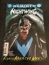 """Nightwing#5 Incredible Condition 9.4(2016)""""Night Of The Monster Men"""""""