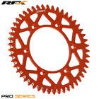 For KTM EXC 300 2T 2004 RFX Pro Series Elite Rear Sprocket Orange 46T