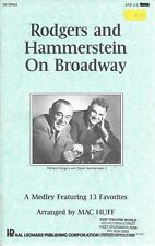 Rogers and Hammerstein on Broadway music medley SAB 13 favourites vintage 1987