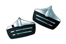 Kuryakyn Accent Mud Flaps for Harley-Davidson Trike Models 2011-2017 Chrome