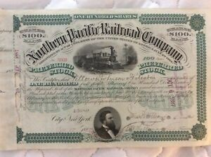 Northern Pacific Railroad Company 1887
