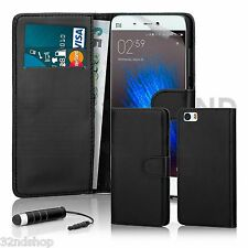 32nd Book Wallet PU Leather Case for XIAOMI Mi5 Screen Protector & Stylus Black