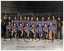 1948 RCAF Flyers Olympic Gold Medal Winners Canada Men's Hockey 8 X 10 Photo