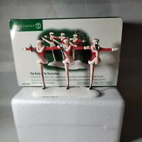 Dept 56 Christmas in the City The Radio City Rockettes 2002
