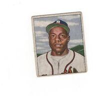 1950 Bowman SAM JETHROE RC #248 Boston Braves