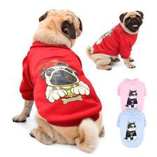 Winter Dog Clothes Warm Dog Shirt Sweatshirt Jacket for Yorkie French Bulldog