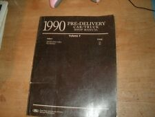 1990 FORD MUSTANG THUNDERBIRD PROBE LTD ESCORT SHOP SERVICE MANUAL PREDELIVERY