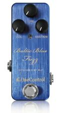 One Control Baltic Blue Fuzz Guitar Effect Pedal