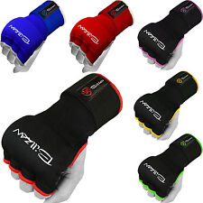 BILLZAN Boxing Gel Padded Inner Gloves Wrist Support Muay Thai Hand Wraps Pair