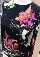 BALENCIAGA Stunning Print Top Sz 8