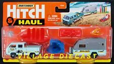 2021 Matchbox Hitch & Haul #4 Mbx Wave Rider Vw Transporter Cab /Empty Cargo Bed