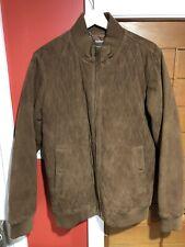 Bobby Jones quilted suede coat jacket MSRP $595