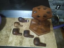 Pipes and pipe holder