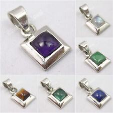 925 Silver Pendant LAPIS, BLACK ONYX & Select Stones Christmas Jumper Offers