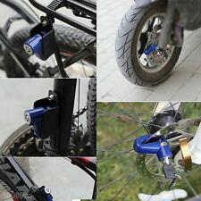 Security Brake Disc Lock Padlock Motorcycle Motorbike Scooter Moped + 2 Keys Kit