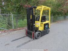 2009 Hyster E45Xn-33 Electric 4,500lb Warehouse Forklift Lift Truck 48V bidadoo